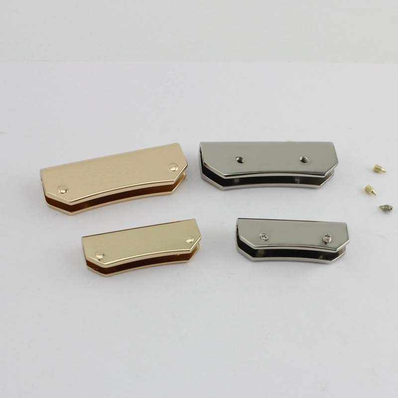 38 мм 50 мм металлическая Зажимная фитинг Сумочка с металлическими элементами кисточка крышка застежка маленькая квадратная пряжка винта соединитель сумка вешалка сумка оборудование