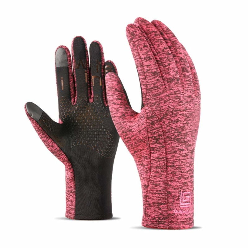 Winter Waterproof Ski Gloves Full Finger Cycling Gloves Hiking Men And Women Touch Screen Windproof Outdoor Sports