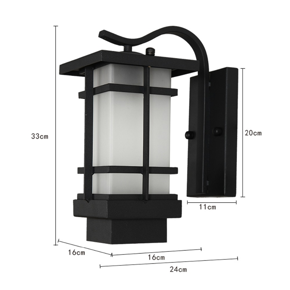 E26 E27 40w Number Of Lighting 1 Western Outdoor Fixture Waterproof Room Exterior Wall Lights In Lamps From On