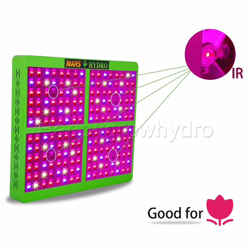 Mars Hydro  Reflector 960W  Full Spectrum LED Grow Light Growth&Bloom Switches for Grow Box tyr hydro light