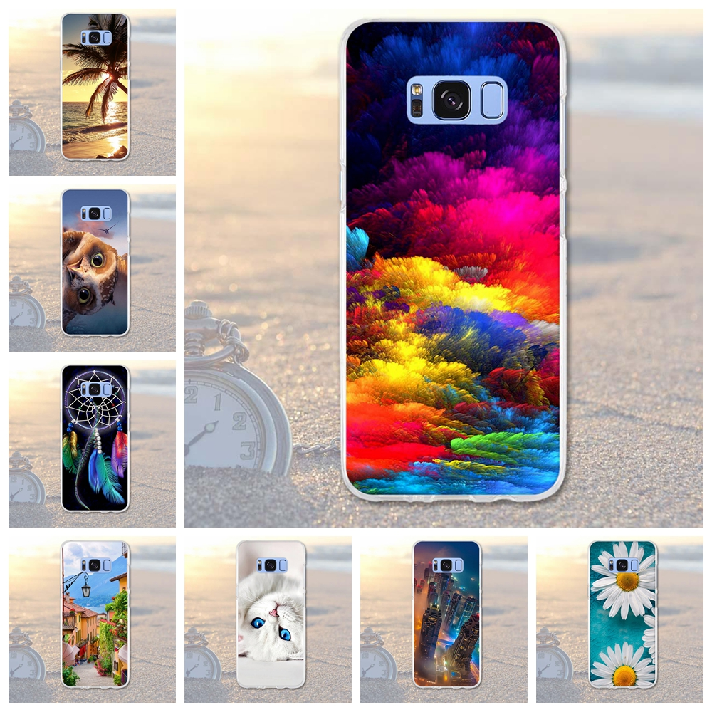 For Samsung Galaxy S8 Plus Case Cover For Samsung S 8 Plus S8+ 3D Painting Soft Silicone Phone Cover for Samsung galaxy s8 plus