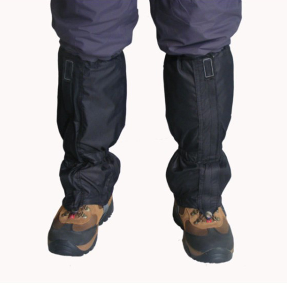 Agbistue Wear-waterproof Boot Covers Climbing Skiing Hunting Trekking Boot Covers Leg Sleeves Ski Snow Legging Gaiters Cover