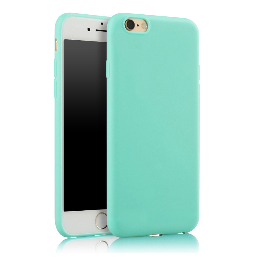 Fashion Soft Matte Case For iPhone X Cases 6 6S 7 8 Plus 5 5S 360 Full Cover TPU Silicone Phone Cover Protection Shell