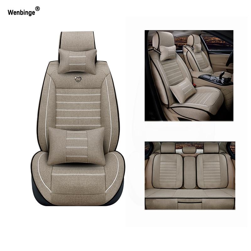 Breathable car seat covers For Suzuki Swift Wagon GRAND VITARA Jimny Liana 2 Sedan Vitara sx4 auto accessories styling все цены