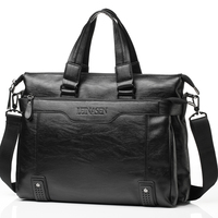 mens bags leather briefcases men briefcase black office bags for man shoulder leather laptop messenger bag
