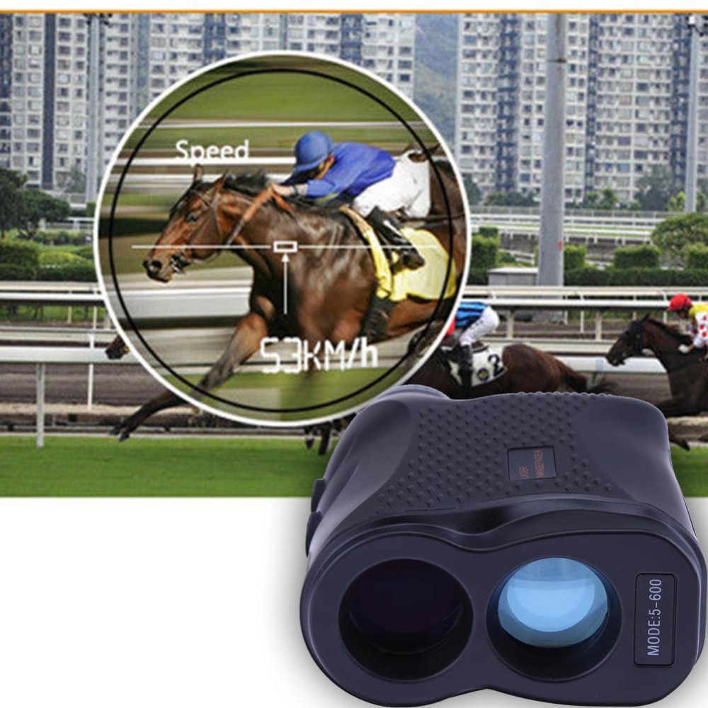 600M Monocular Telescope Laser Range Finder Distance Height Speed Meter Hunting Optics Golf Outdoor Laser Rangefinders