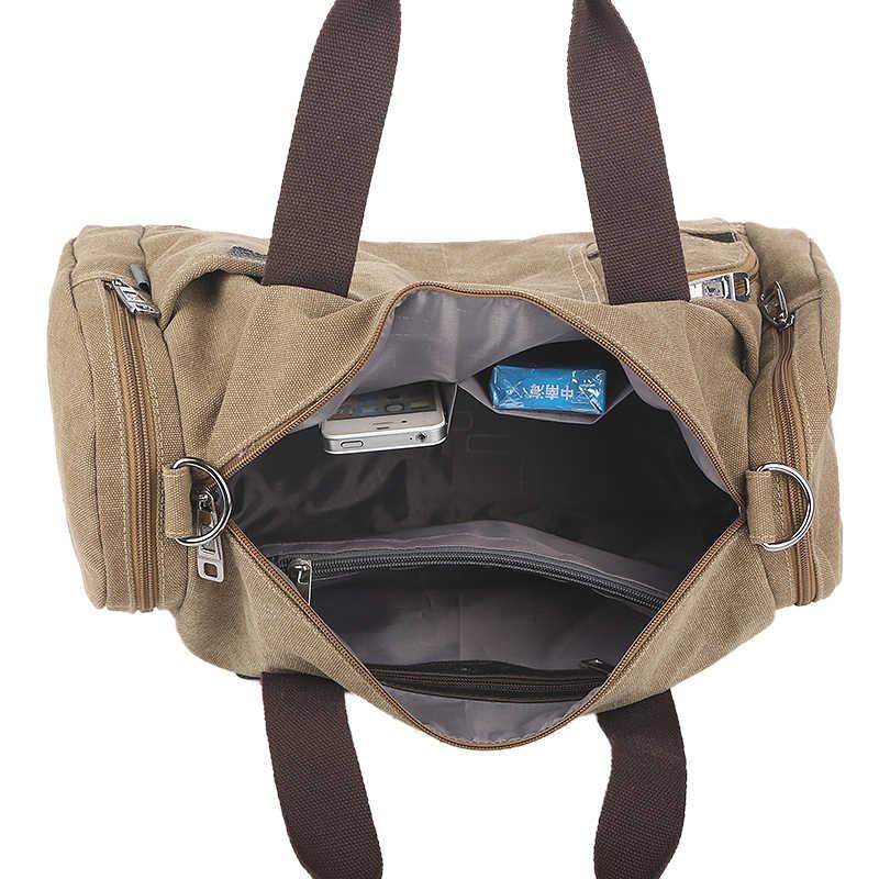 250e59db1954 ... Спортивные холстяные сумки для спортзала, путешествий от русского  дизайнера, новая женская мужская повседневная ручная