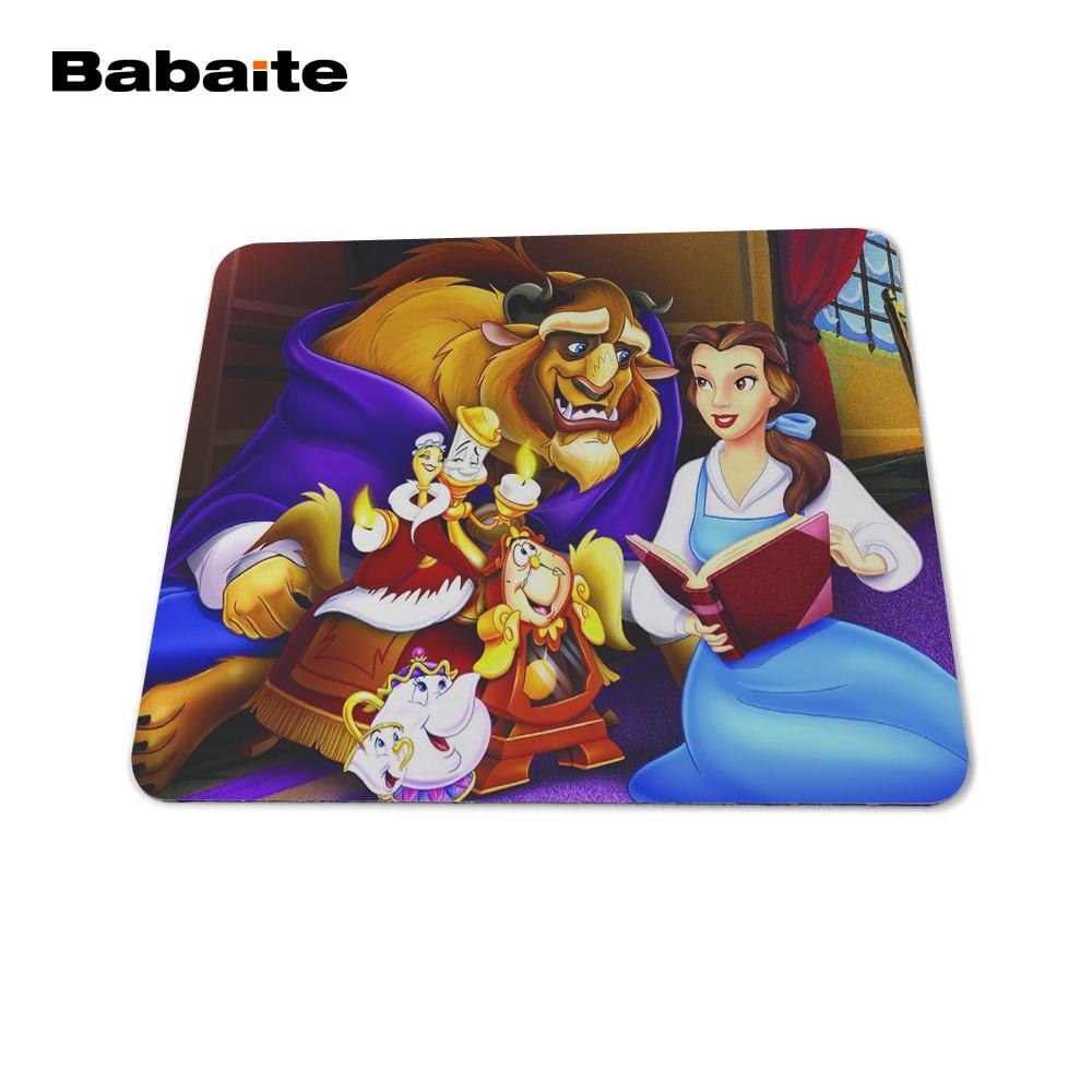 Babaite envío de la gota de goma Mousepad La bella y la bestia - Periféricos de la computadora - foto 6