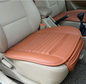 Image 3 - Auto Drivers Zitkussen Bamboe Houtskool Auto Kussen Auto Seat Cover Pad Lederen Slijtvaste Auto Pads