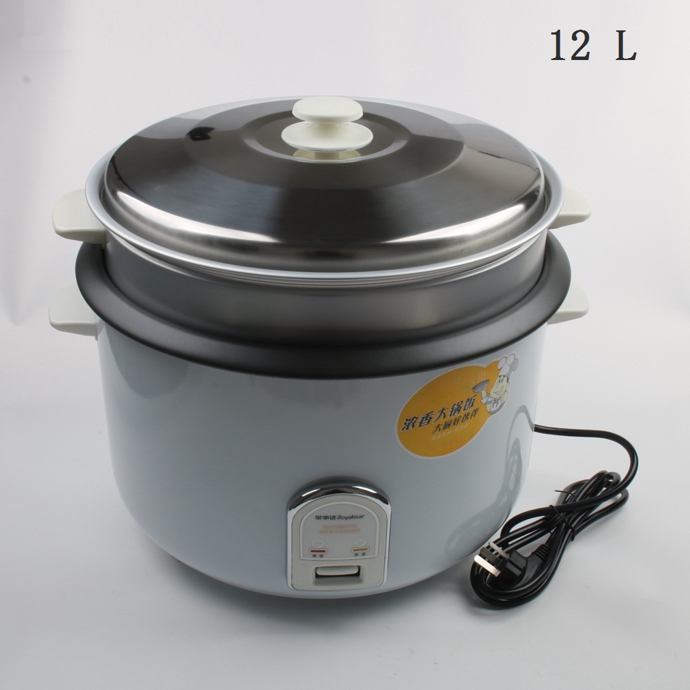 DMWD 12L Large Capacity Rice Cooker Electric Food Steamers Non-stick Multifunctional Cooker For Commercial Top Quality 220V цена и фото