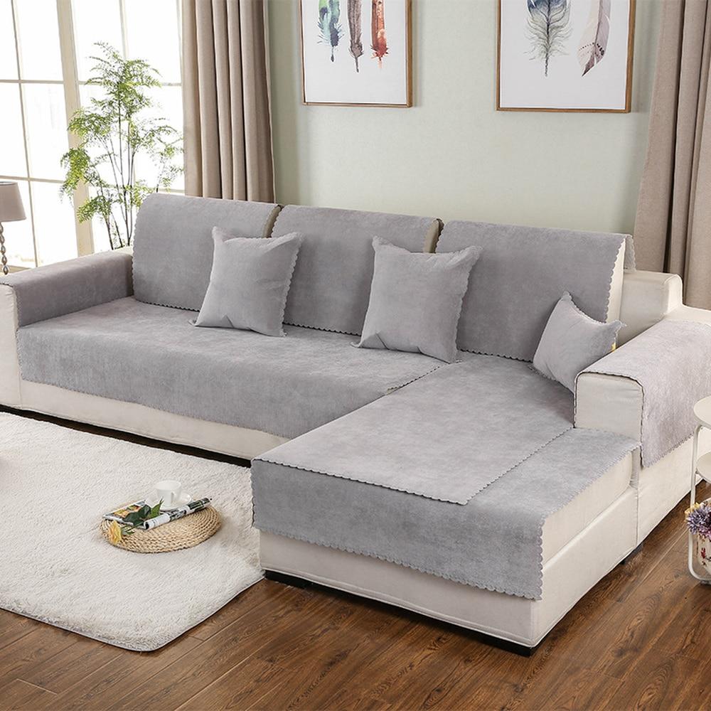 Sofa Cover Set Combination Kit Cushion
