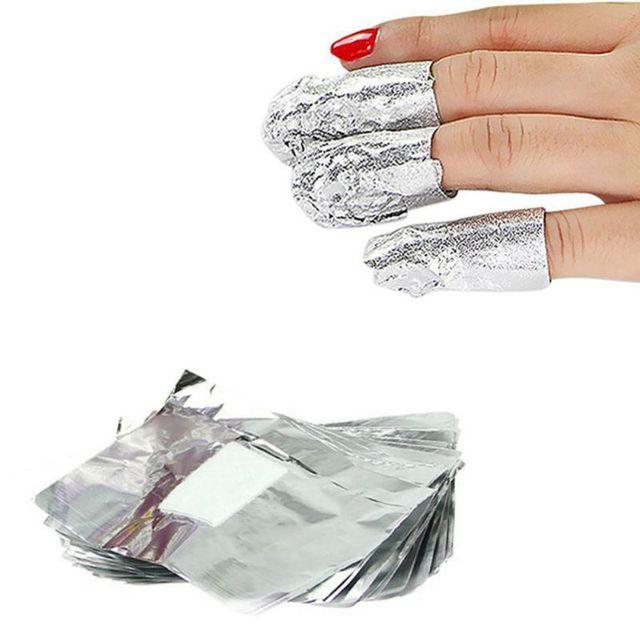 Aliexpress.com : Buy Low Price Aluminium Foil Nail Art Soak Off UV ...