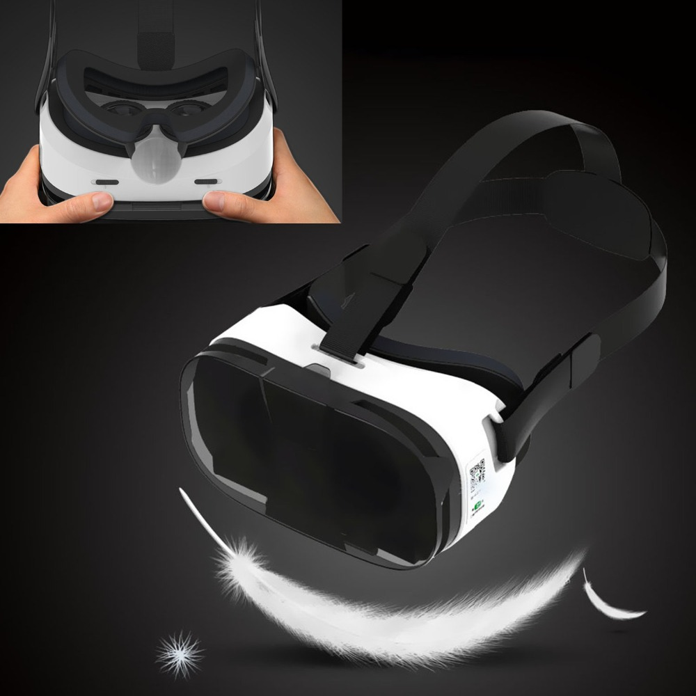4dcdc0dcb9d Fiit 2N VR Cover Virtual Reality Goggles Headset Visor 3D Eyes Spectacles  Virtual Glasses VR Headset for Phones Adult kids Gifts-in 3D Glasses   Virtual ...