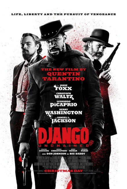 085 Django Unchained - 2012 American Western Film 24x36 Poster image