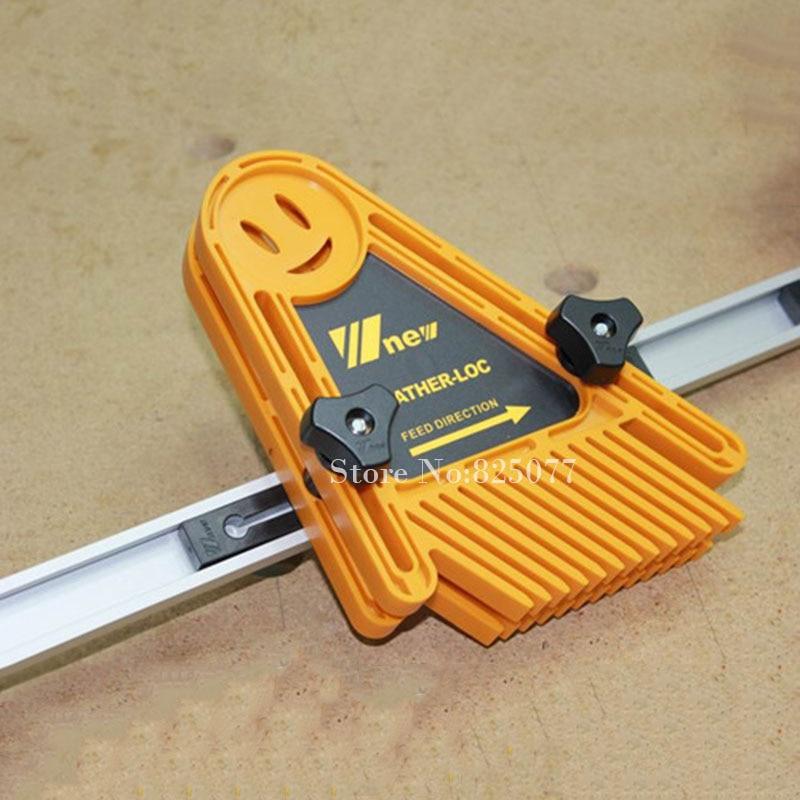 2 SZTUK T-rowki T-rowek Mitre Track Jig Mocowanie uchwytu do routera - Zestawy narzędzi - Zdjęcie 6