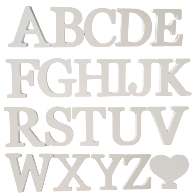 New Diy Stickers Letter 3d English Wedding Love Letters Decorative