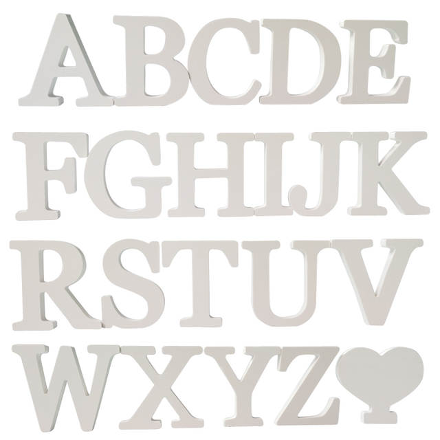 Online Shop New Diy Stickers Letter 3d English Wedding Love Letters