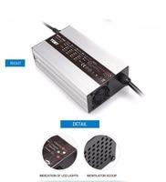 Top verkauf 900 Watt Blei-säure autobatterie Schnelle Ladegerät mit aluminium Shell 24V25A 36V18A 48V15A