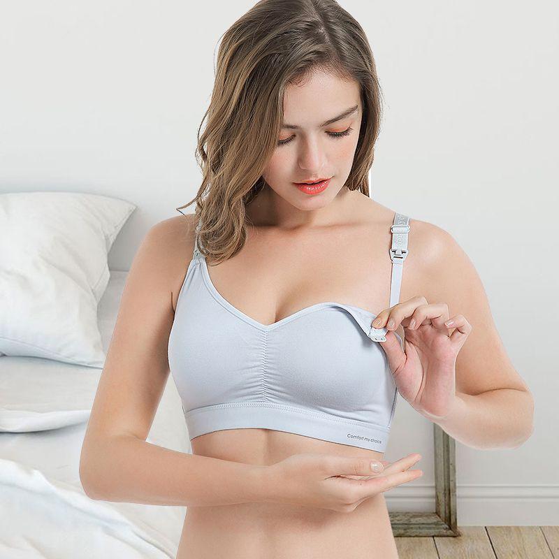 Vereinigt Heißer Verkauf Frauen Mom Fit Nahtlose Pflege Bh Schwangere Mutterschaft Brust-fütterung Bh Top Stretchy Um Jeden Preis