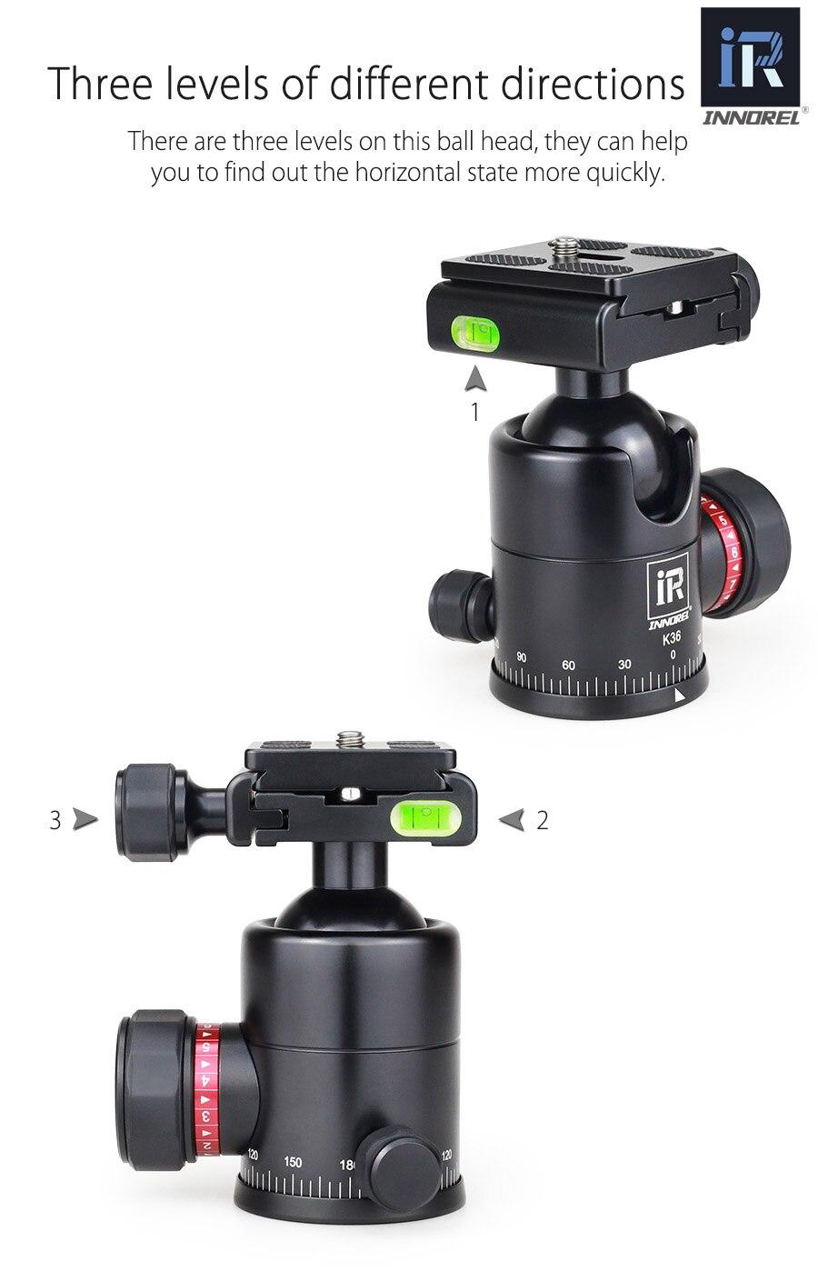 RT55C Профессиональный штатив из углеродного волокна для камеры 12 кг Портативный штатив с медведем для путешествий и видео DSLR 5 секций с шаровой головкой для CANON NIKON