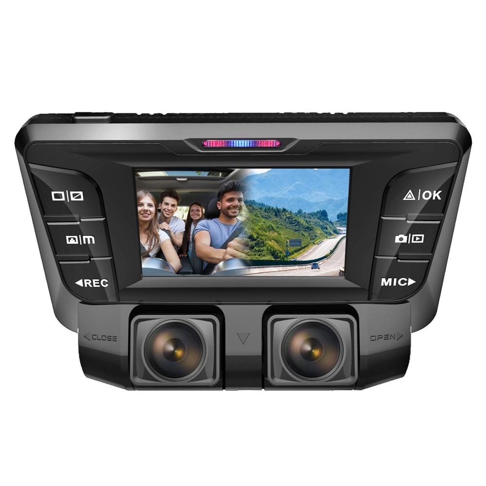 Ecartion 2.7 Car DVR Two Camera FHD 1080P+ FHD 1080P Video Recorder Car Camera With Wifi Dash Cam Black Box Auto Registrators