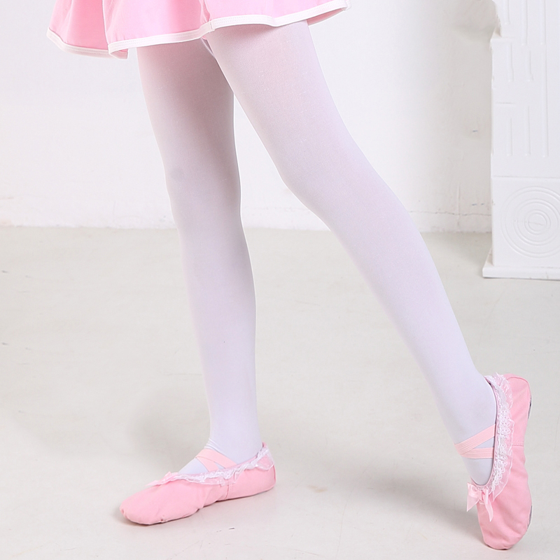Ballet Step In Sock Kids Thickened Knitted Cotton Stockings Ballet Accessories Children Performance Practice Wear Socks DN1876
