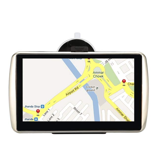 Q1 7 inch Car GPS Navigation Navigator Win CE 6.0 TFT Touch Screen FM Radio 128M RAM 4GB SD ROM Support E-book TXT Format