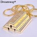 Чистое золото брелок золотой брелки брелки женщины сумочка подвески подвеска металл key finder роскошные человек ключи от машины кольца аксессуар