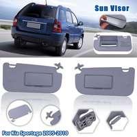 Car Inner Sunvisor Sunshield Sun Visor Shield Shade Board Left Right With Mirror For KIA Sportage 2005 2006 2007 2008 2009 2010