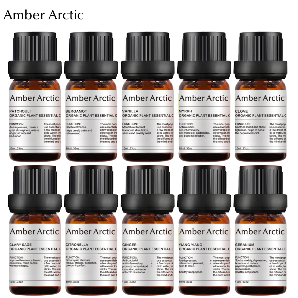 Pure Natural Aromatherapy Essential Oils  Refresh Air Therapeutic Plant Relaxation Skin Care Wrinkle Care Lift Skin