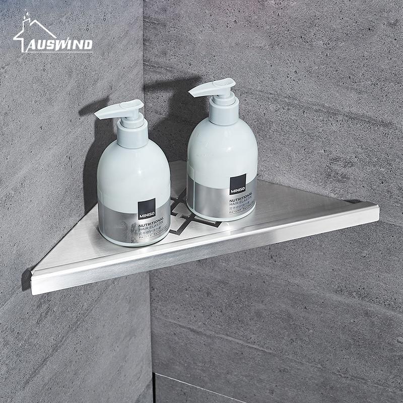 Silber Bad Regale Edelstahl Geburstet 304 Wand Badezimmer Regal