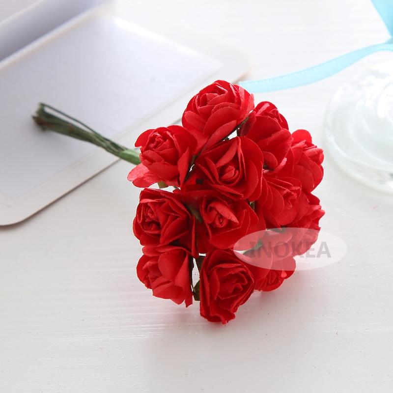 unidslote cm mulberry paper flowerhecho a mano de mini rosa
