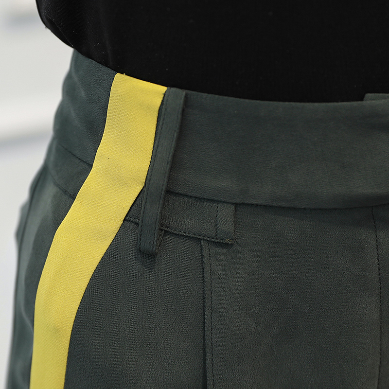 Printemps Long Lâche Soie De Pantalon 5xl Femmes Base Formelle Grande Bas Lourde Voa Army Taille K112 En Bureau Green Décontracté Armée Bref Large Vert H0OS0qx