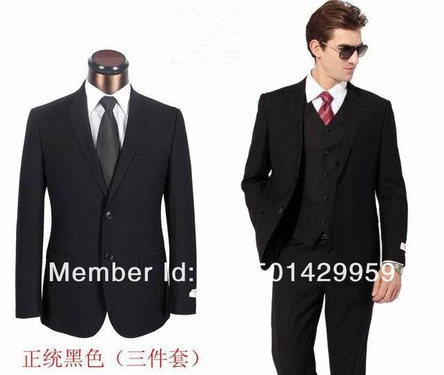 Free Shipping New Fashion Classic Mens Three Piece Prom Evening Wear