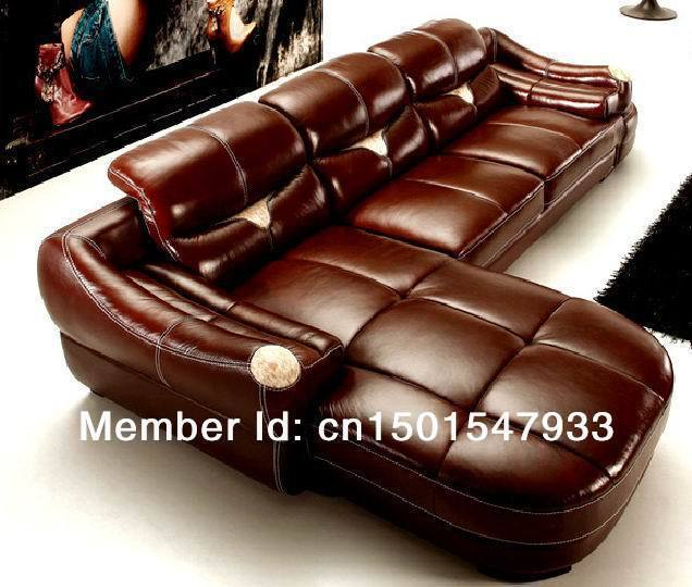Leather Sofa , modern sofa, corner sofa, Italian leather, sectional sofa  whole sale  promotion
