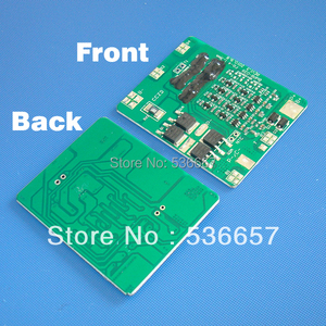 Image 2 - Free Shipping 14.8V 4S 10A BMS 4S PCM 14.8V li ion battery protection board Used For 4S 3.7V li ion cell
