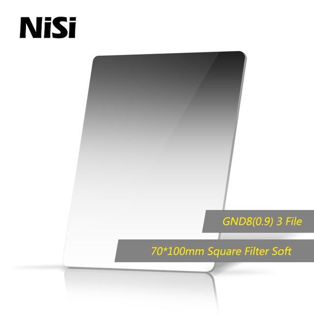 NiSi 70*100mm 3stops Soft GND8(0.9) Gradient Neutral Density Square Filter концерт на крыше roof music fest
