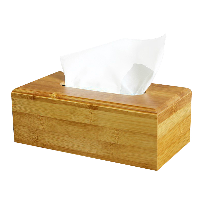 Mode Simple Papier Serviette Boite De Rangement En Bois Tiroir
