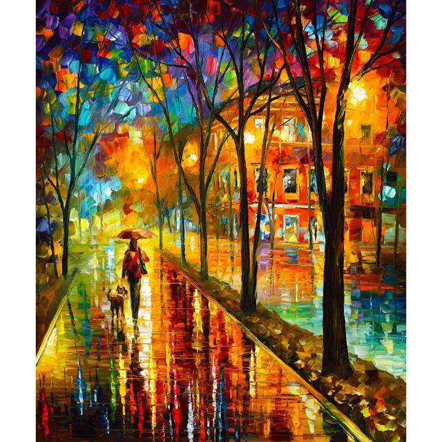modern landscape palette knife canvas oil paintings best friend for