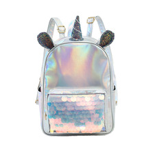 Unicorn Glitter Sequin Backpack