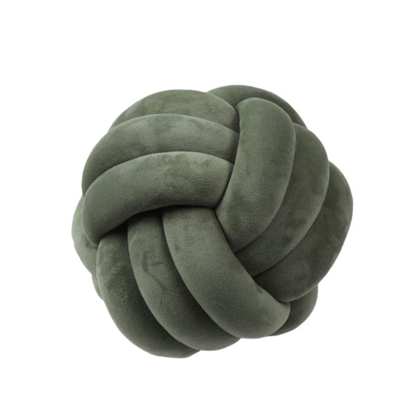 HTB1pMykXHr1gK0jSZR0q6zP8XXaC Soft Knot Ball Cushions Bed Stuffed Pillow Home Decor Cushion Ball Plush Throw