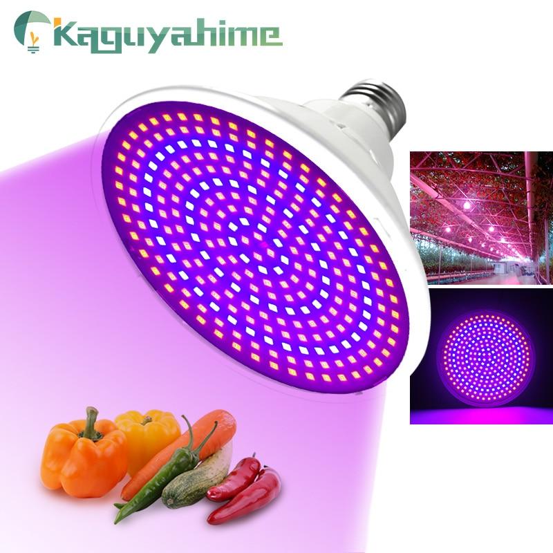 Kaguyahime LED Grow Light E27 Lampada LED Grow Lamp Full Spectrum 4W 30W 50W 80W Indoor Plant Lamp IR UV Flowering Hydroponics