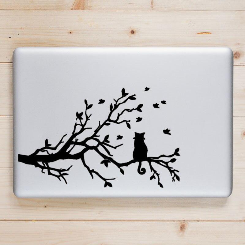 Overlooking Cat Vinyl Laptop Sticker Decal for font b Apple b font font b Macbook b
