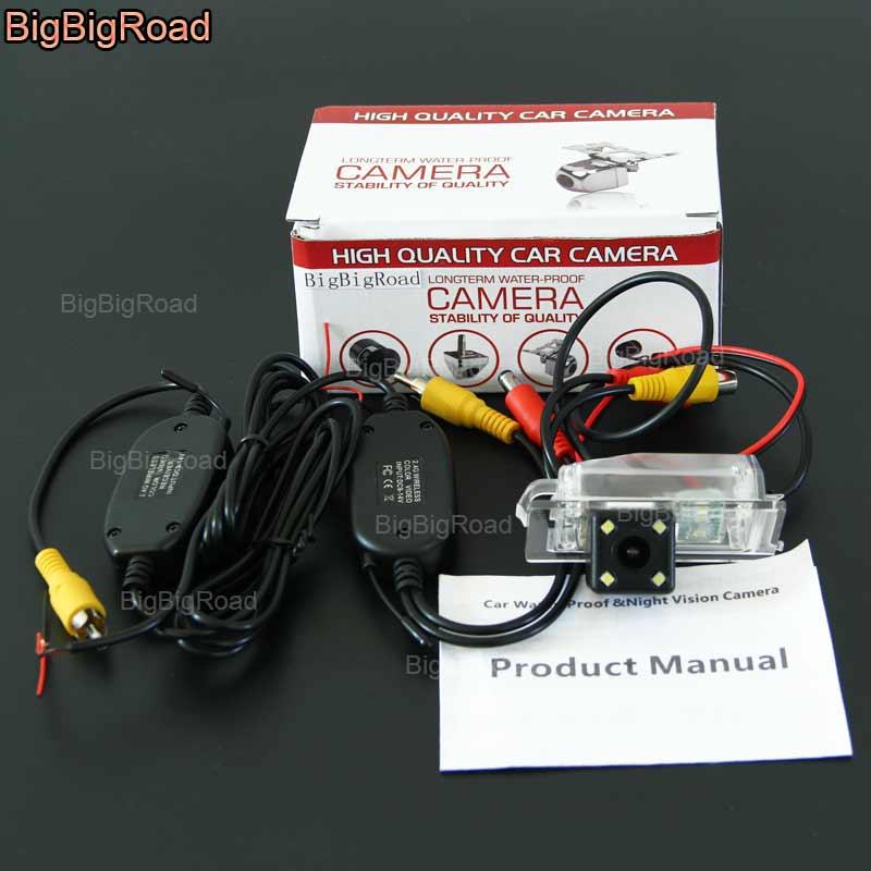 BigBigRoad For Haima Family / Haima m3 / family 3 Wireless Camera Car Rear View Reversing Camera CCD waterproof Parking Camera