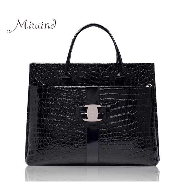 2016 New Luxury OL Lady Handbags Women Famous Brands Crocodile Pattern Hobo Handbag Tote Fashion Lady PU Shoulder Handbag  BG144