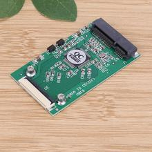 Mini SATA mSATA PCI-E SSD to 40pin 1.8 Inch ZIF CE Converter Card For IPOD IPAD for Toshiba for Hitachi ZIF CE HDD Hard disk