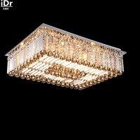 Высококлассные кристалл лампы низкого напряжения площадь гостиной горит лампы освещения Потолочные светильники роскошные лампы Бесплатн...