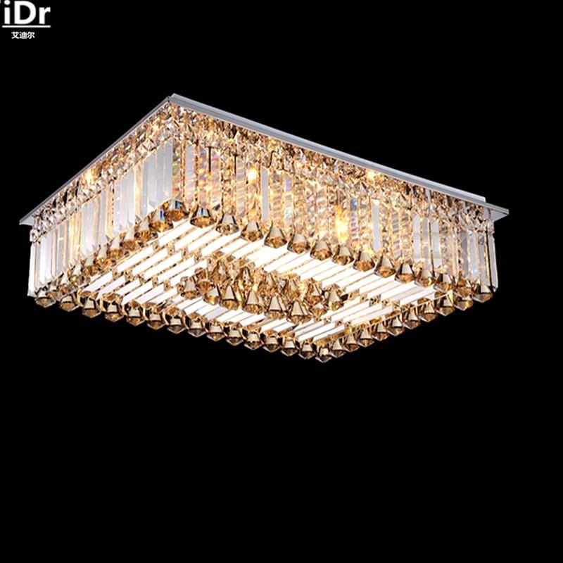 Grosshandel Gehobenen Kristall Lampe Niedervoltlampe SMD Platz Wohnzimmer Lichter Lampen Beleuchtung Deckenleuchten Rmy 076