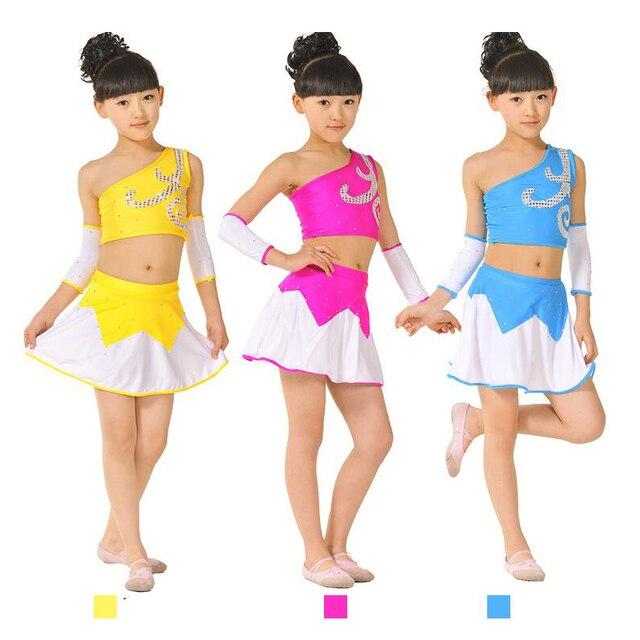 68cd5af39c6b Fashion Girl Boy Leotards Toddler Girl Gymnastics Dance Dress ...