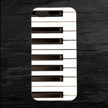 Piano Keys Phone Case for iPhone 8 7 6 Plus X XR XS Max